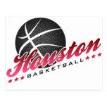 Houston Basketball Postcard