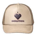 Houston -- Blue with glow Trucker Hat