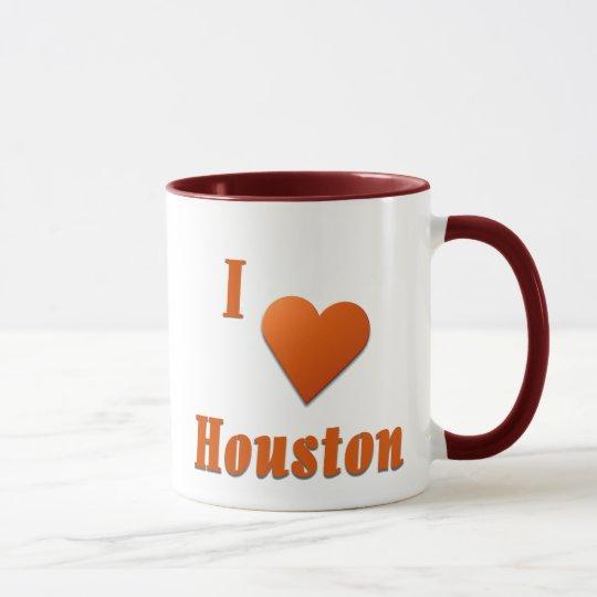 Houston  -- Burnt Orange Mug