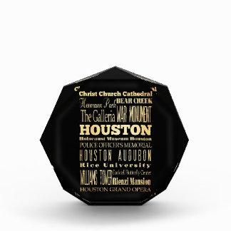 Houston City of Texas State Typography Art Awards