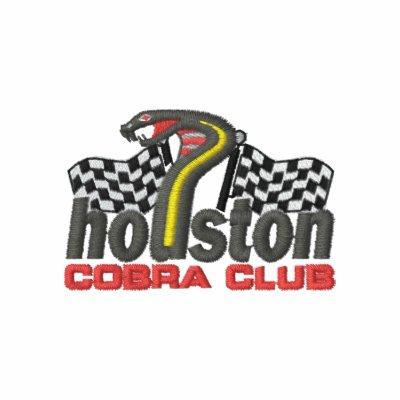 Houston Cobra Club Long Sleeve Polo