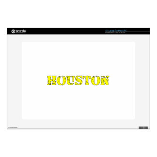 """Houston Decal For 15"""" Laptop"""
