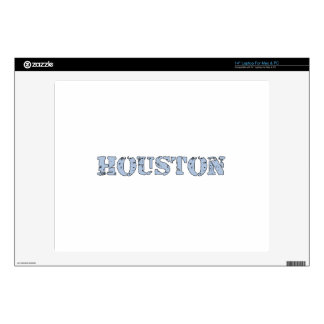 Houston Decal For Laptop