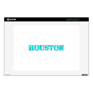 """Houston Decals For 13"""" Laptops"""