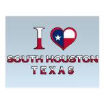 Houston del sur, Tejas Tarjeta Postal