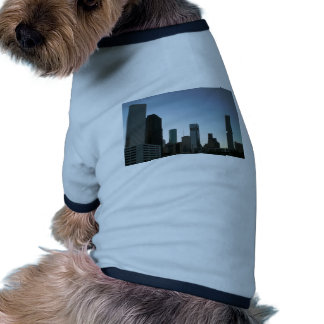 Houston Downtown Skyline 2 Doggie Tshirt