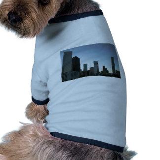 Houston Downtown Skyline 2 Doggie T Shirt