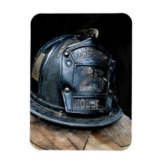 Houston Fire Fighter Premium Magnet