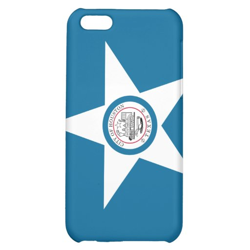 Houston Flag Cover For iPhone 5C