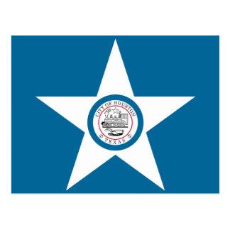 Houston Flag Postcard