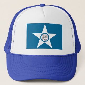 Houston Flag Trucker Hat