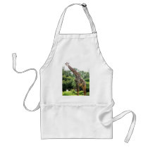 Houston Giraffe Adult Apron