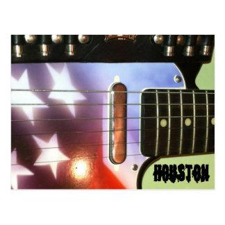 Houston Guitar Postcard