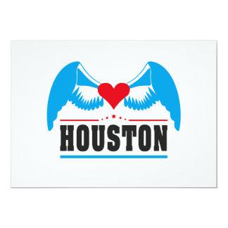 """Houston Invitación 5"""" X 7"""""""