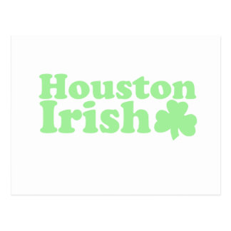 Houston irish postcard