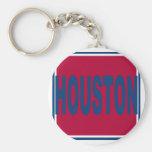 Houston Keychain