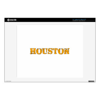 Houston Laptop Skin