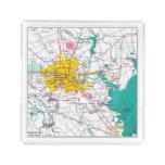 Houston Map Acrylic Tray