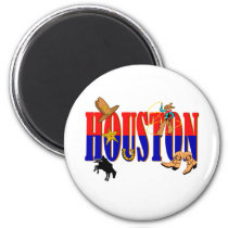 Houston Pics Magnet
