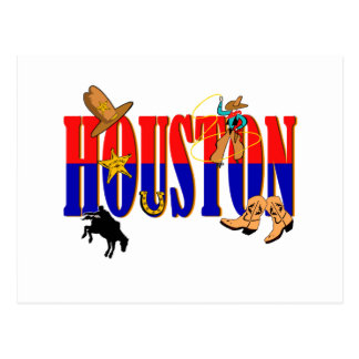 Houston Pics Postcard