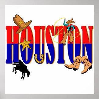 Houston Pics Print