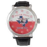 Houston Polish Texan Crown Watch