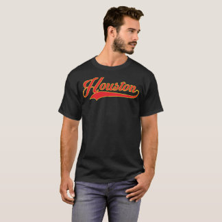 Houston Red and Gold T-Shirt