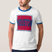 Houston Red Square T-Shirt