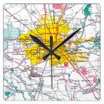 Houston Reloj De Pared