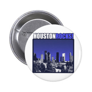 Houston Rocks Buttons