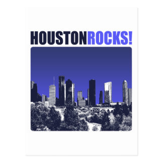 Houston Rocks! Postcard