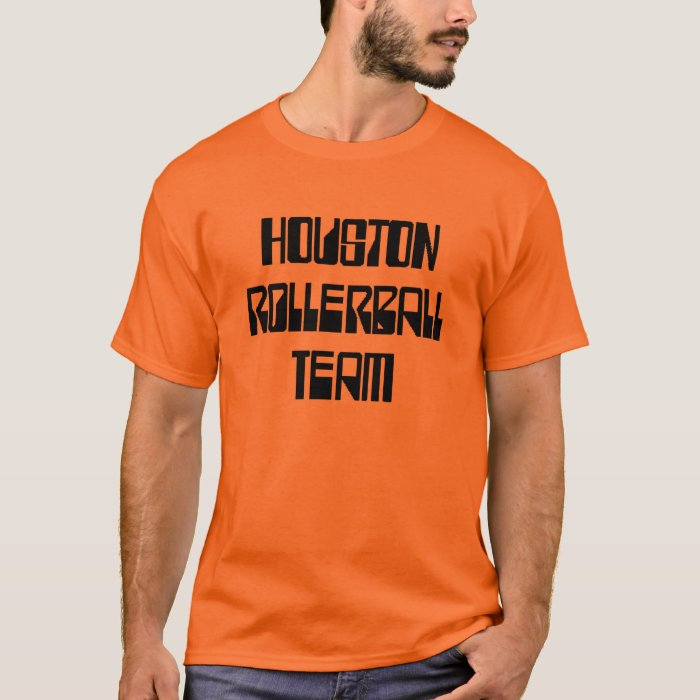 Houston Rollerball Team T-Shirt
