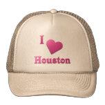 Houston -- Rosas fuertes Gorras De Camionero