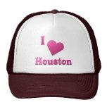 Houston -- Rosas fuertes Gorros Bordados
