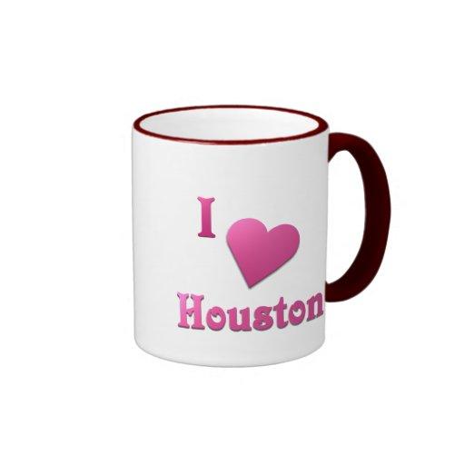 Houston -- Rosas fuertes Tazas