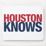 Houston sabe alfombrilla de ratón