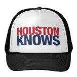 Houston sabe gorro de camionero