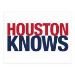 Houston sabe postal