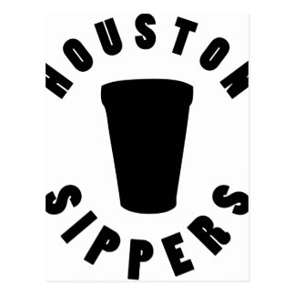 Houston Sippers Postcard