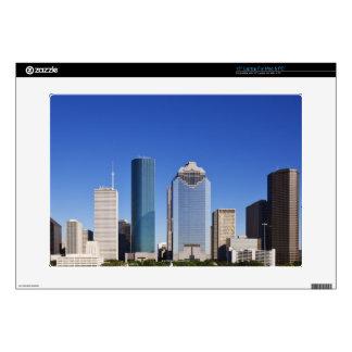 "Houston Skyline 15"" Laptop Skin"