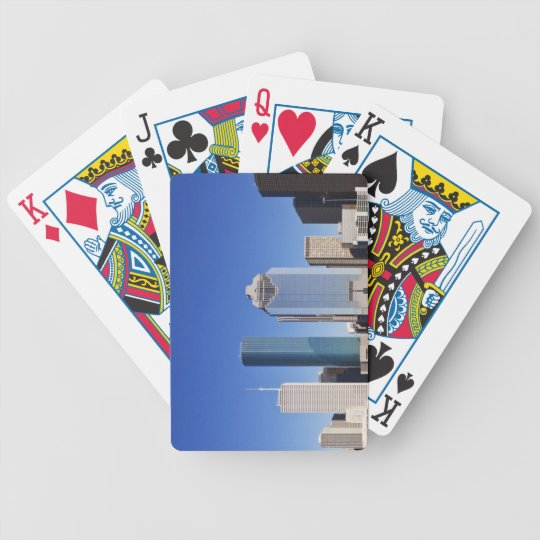 Houston Skyline Bicycle Playing Cards