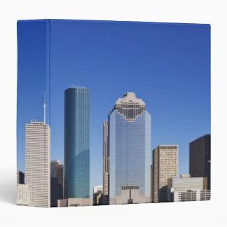 Houston Skyline 3 Ring Binder
