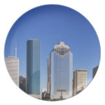 Houston Skyline Dinner Plates