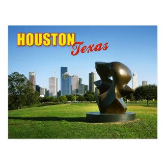Houston Skyline from Eleanor Tinsley Park, TX Postcard