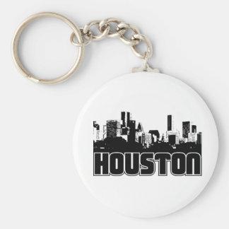 Houston Skyline Keychain
