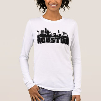 Houston Skyline Long Sleeve T-Shirt