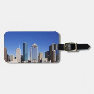 Houston Skyline Luggage Tag