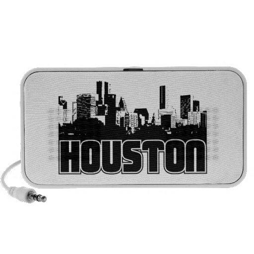 Houston Skyline Mini Speaker