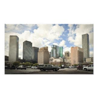 Houston Skyline Photo Art