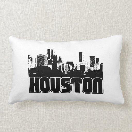 Houston Skyline Pillows